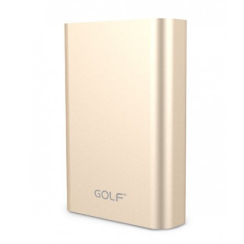 Golf Edge X3 10,000mAh QC 3.0 Quick Charge Power Bank - Gold