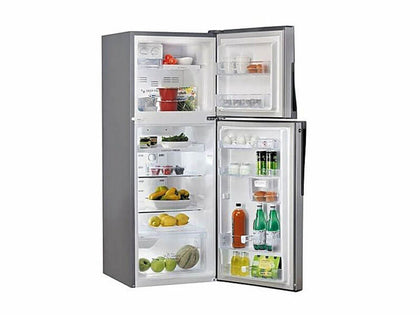 Hisense 160L Double Door Fridge With Top Mount Freezer - Silver
