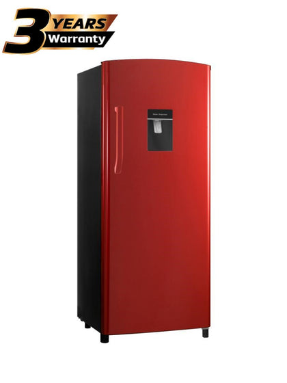 Hisense 229L Single Door Fridge With Water Dispenser - Red