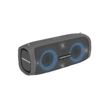 HOPESTAR A6 Party LED 35W Bluetooth IPX6 Waterproof 6000mAh 3D Sound System -Grey