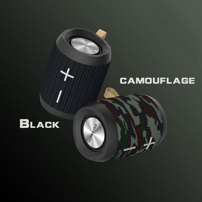 HOPESTAR P13 Portable Outdoor Bluetooth IPX6 Waterproof Speaker - Camouflage