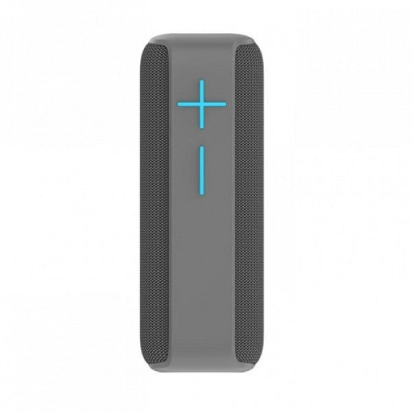HOPESTAR P15 Wireless Bluetooth Outdoor Portable IPX6 Waterproof Column Speaker - Grey