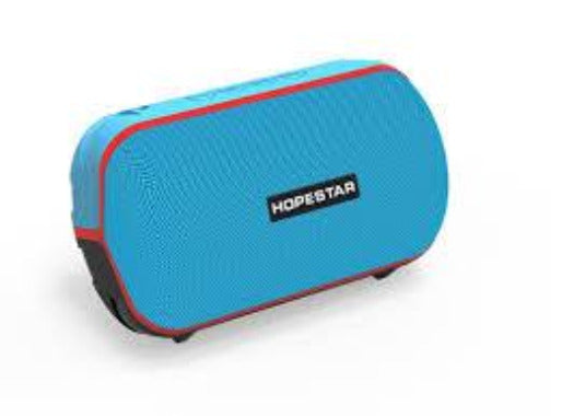 HOPESTAR T6 Portable IPX5 Waterproof 5W BT Speaker With TWS Function - Blue