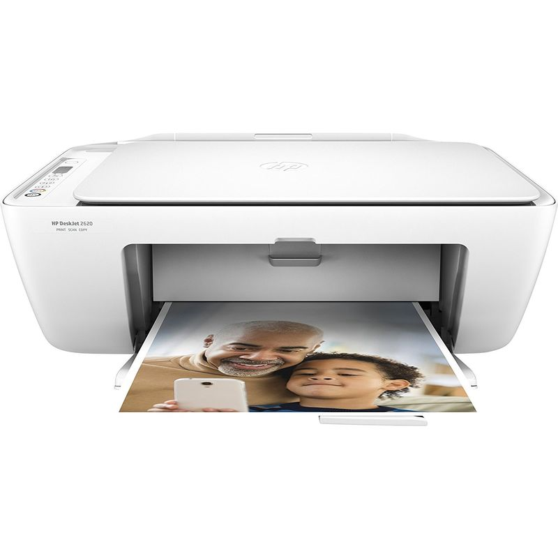 HP DeskJet 2620 All-in-One Wireless Inkjet Printer - White