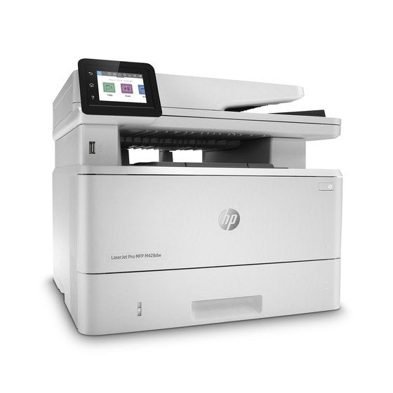 HP LaserJet Pro MFP M428dw Wireless Color Printer - White