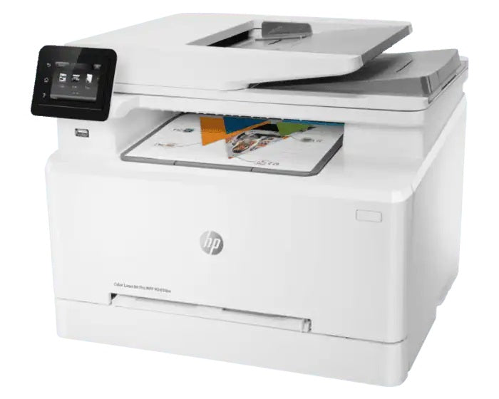 HP MFP M283fdw LaserJet Pro Color Printer - Black