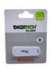 Digirich Sleek 2GB 2.0 USB Flash Drive - White