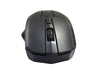2.4G Wireless Optical Mouse Mice For Computer PC Laptop Gamer - Black