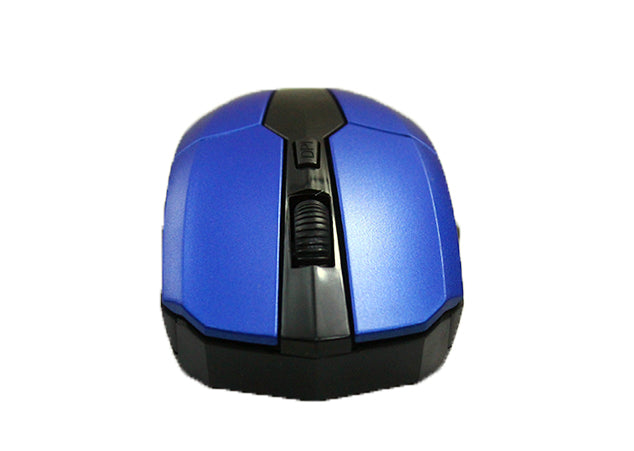 2.4G Wireless Optical Mouse Mice For Computer PC Laptop Gamer - Blue,Black