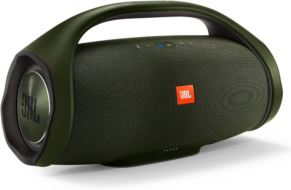 JBL Boombox Portable Bluetooth Waterproof Speaker - Green
