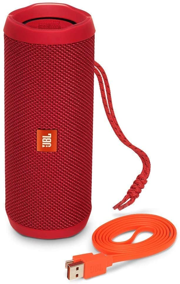 JBL Flip 4 Portable 3000mAh Bluetooth Waterproof Speaker - Red