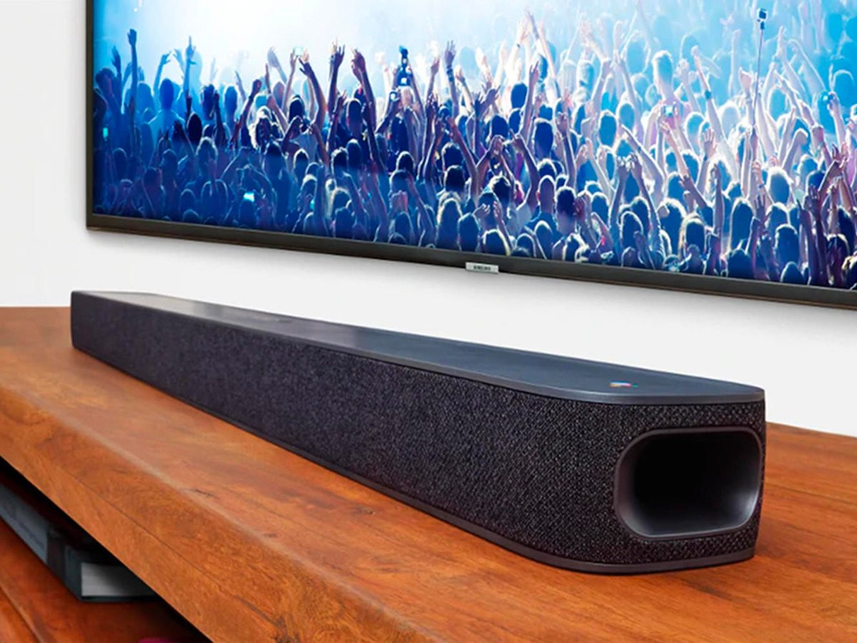 JBL Voice-Activated LINK Soundbar With Android TV & In-Built Google Assistant - Black