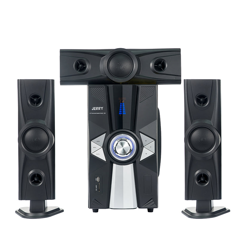Jerry Power JR-D03 HiFi 3.1 Channel Home Theater System - Black