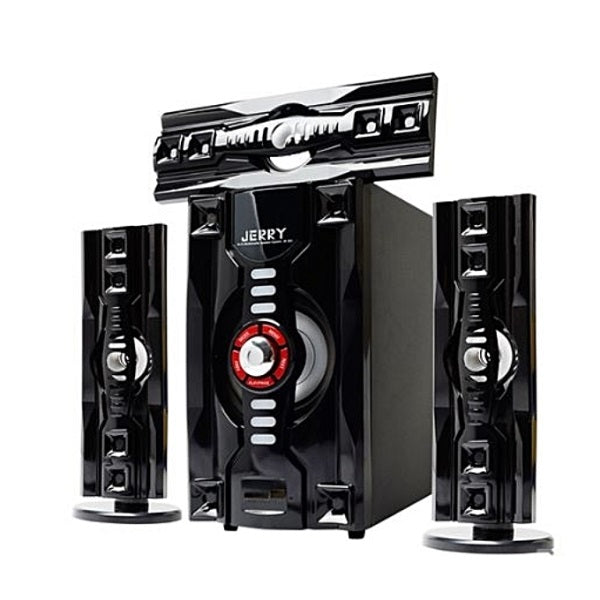 JERRY POWER JR-303 Hi-Fi 3.1 Channel Home Theater System - Black