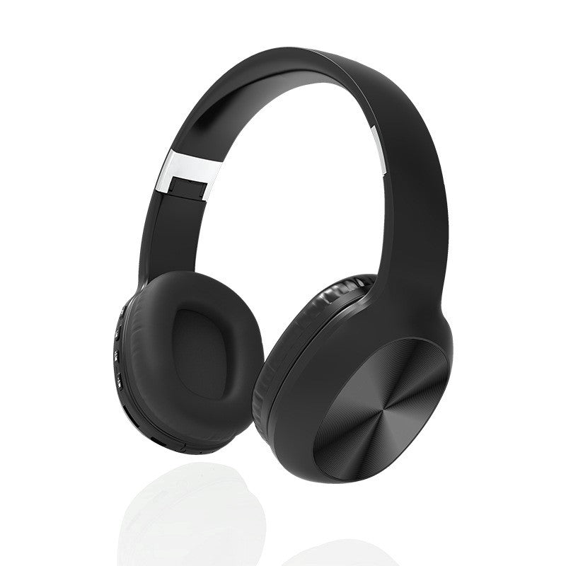 KD48 Bluetooth v5.0 Wireless X-Bass HiFi  Over-Ear Headphones - Black