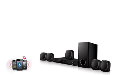LG LHD427 5.1-Channel DVD Home Theater Speaker System