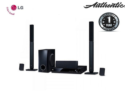 LG 5.1CH -LHD647 Powerful 3D Dolby Sound,1000W, DVD Home Theater System