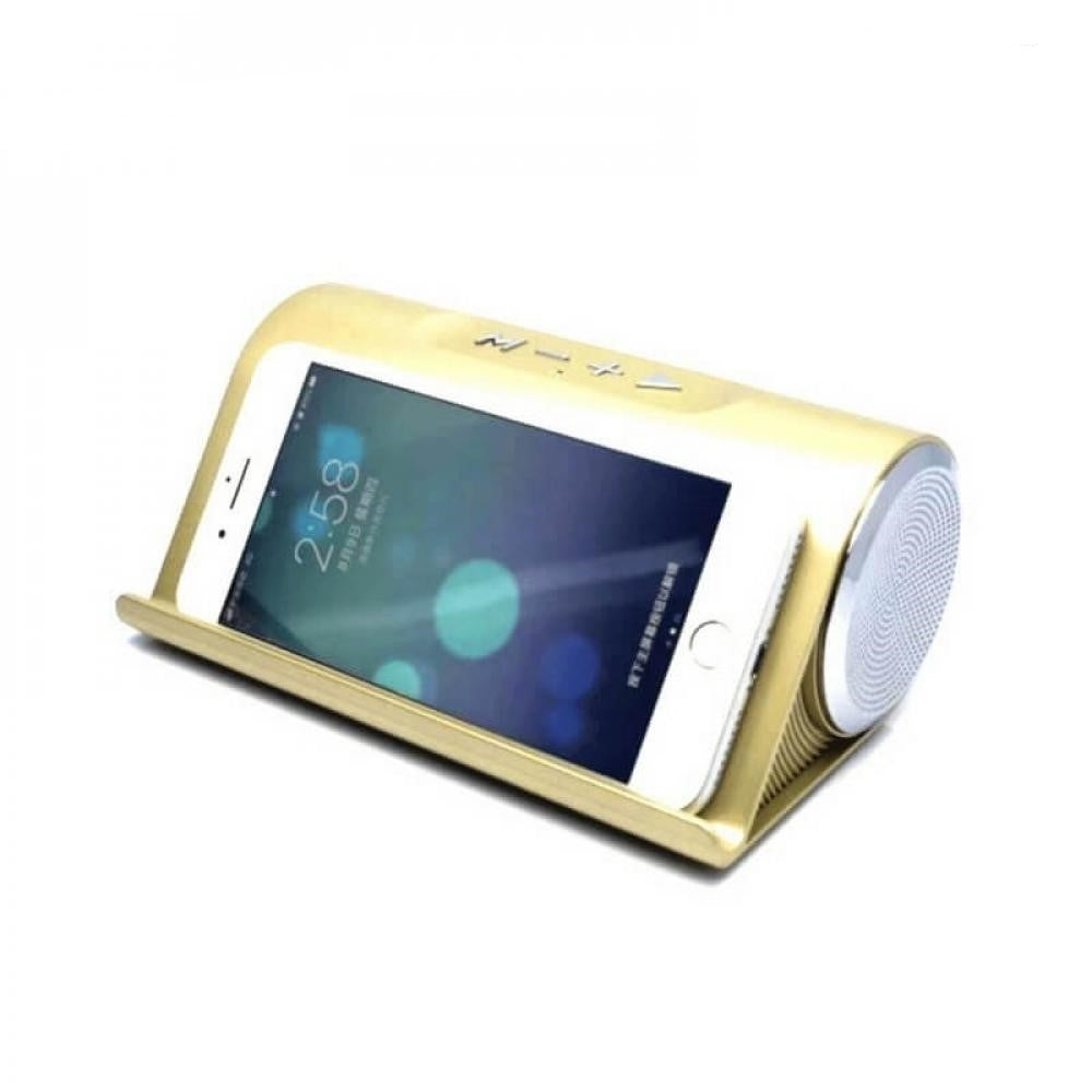 LP V9 Wireless Bluetooth X-Bass Speaker - Gold