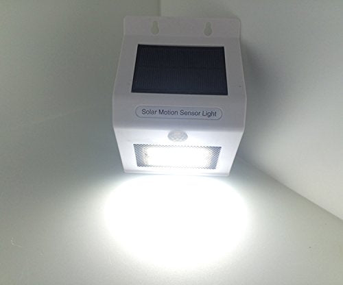 Solar Motion Sensor With LED Night Light - Multicolor