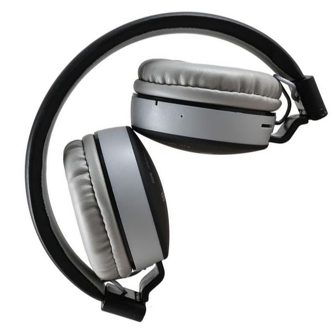 MS-881A Bluetooth Wireless Fully Dolby Headphones for PC And All Smartphones - Black,Grey