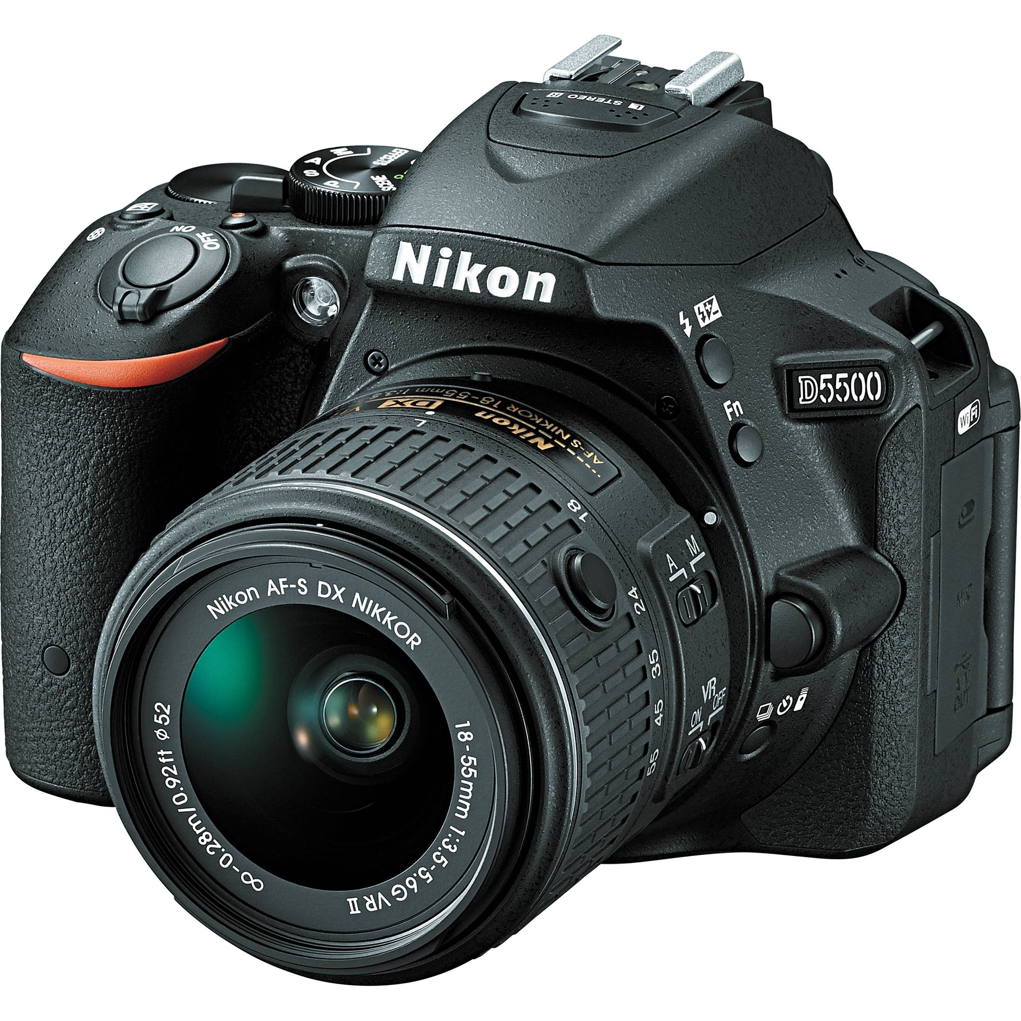 Nikon D5500 | Touch Screen DSLR  24.2MP DX-Format Camera with Built-in WiFi