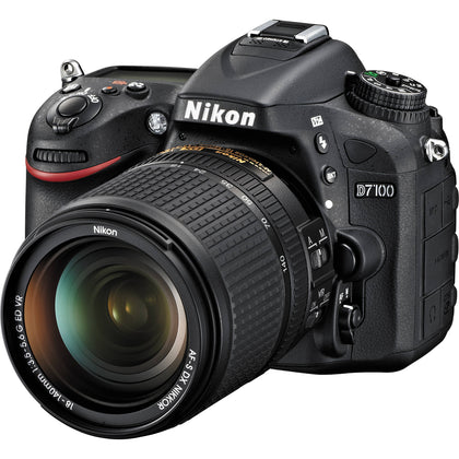 Nikon D7100 24.1 MP DX-Format CMOS Digital SLR Camera - Black