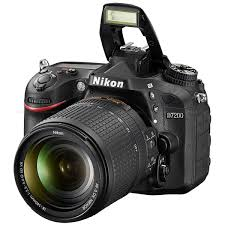 Nikon D7200 | Low-Light DSLR with Built-in WiFi, NFC & More - Black
