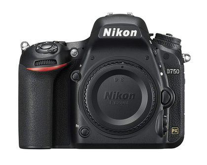 Nikon D750 Digital SLR FX-Format Wi-Fi Camera - Black