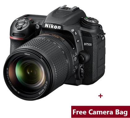 Nikon D7500 DSLR | 20.9 MP DX Format Digital SLR Camera - Black