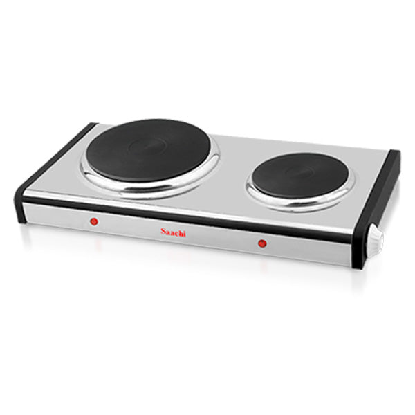 Double Burner Hot Plate NL-HP-6209-ST with Adjustable Thermostat