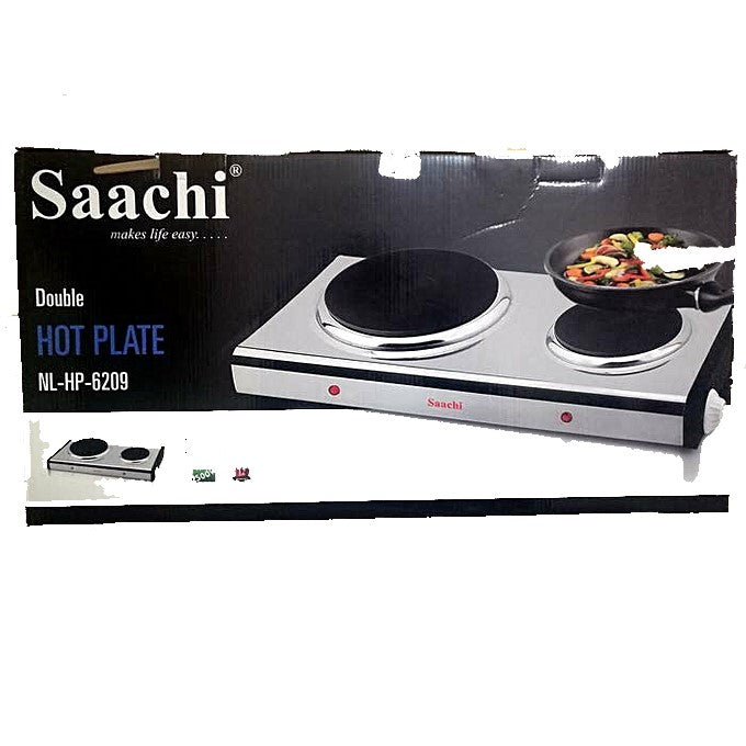Saachi NL-HP-6209 Double Burner Hot Plate - 2500W