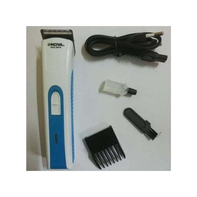 Nova Rechargeable Hair Shaver And Beard Trimmer - White,Blue