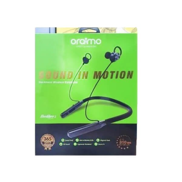 Oraimo OEB-E74D Wireless Earphones With Mic - Black