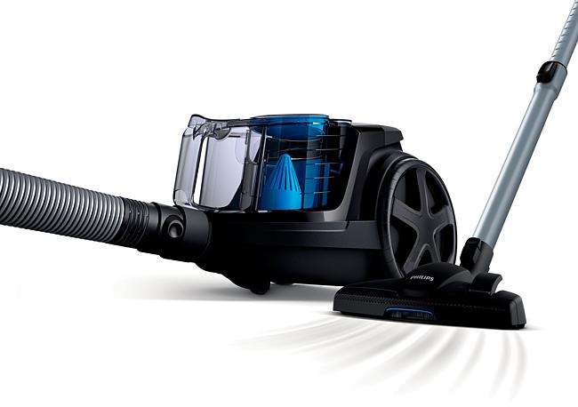 Philips PowerPro FC9350/61 Compact Bagless Vacuum Cleaner - Black