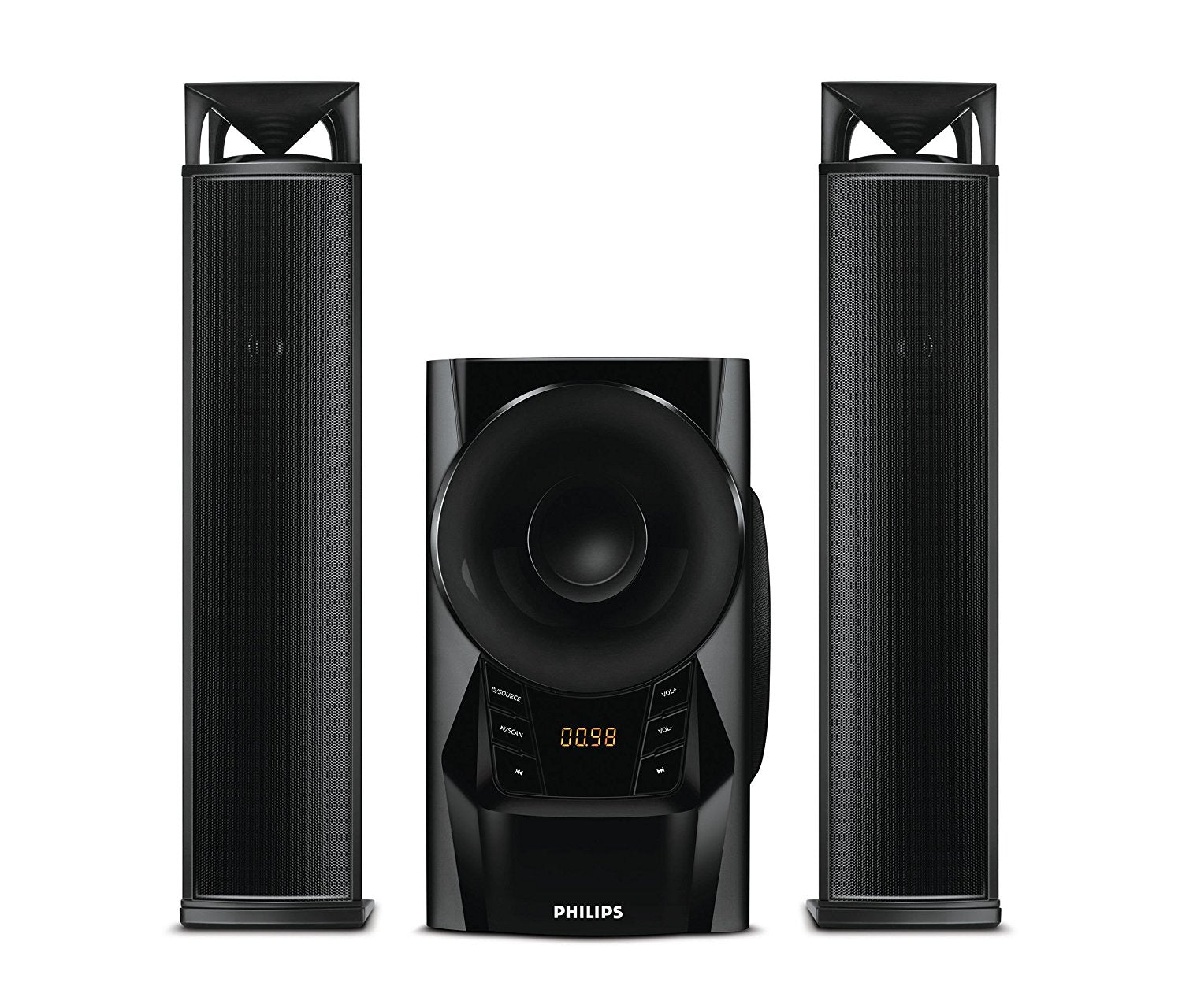Philips MMS4200 - 2.1 Channel Convertible Soundbar Speaker System