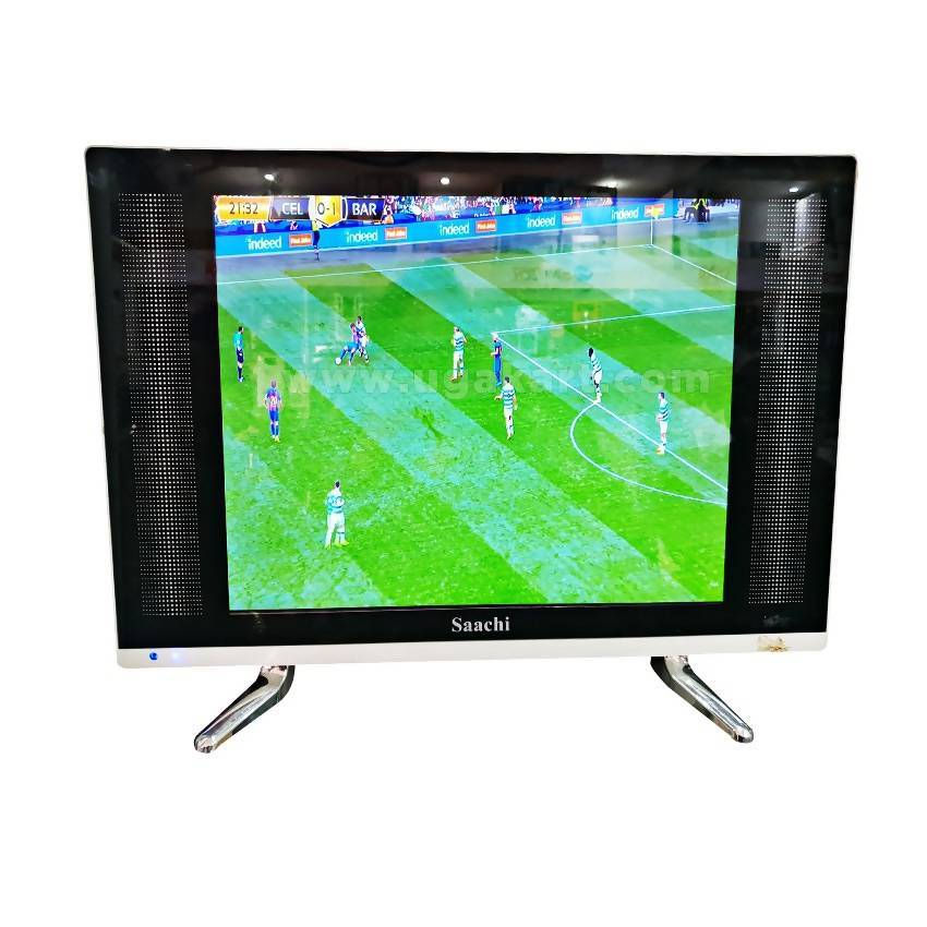 Saachi 15″ Slim LED HD Analog TV - Black