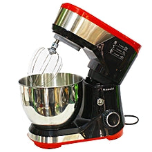 Saachi NL-SM-4174 8-Speed Stand Mixer With Pulse Function - Black,Red
