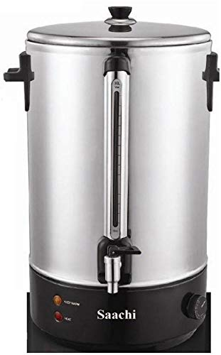 Saachi 10L Water Boiler NL-WB-7310-ST with Variable Temperature Control - Silver