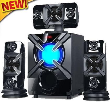 New!!! Sayona SHT1220BT- 3.1 PMPO 6000W Channel Subwoofer -Black