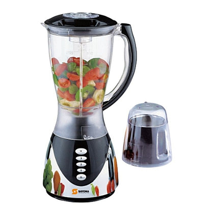 Sayona SB-606 Powerful Blender With Mill & Grinder - 2.0Ltrs