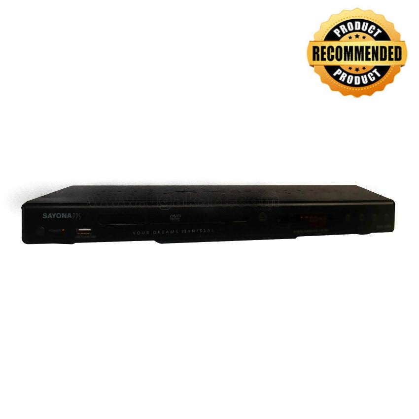 Sayona SDVX-1208 Bluray HDMI DVD Player - Black
