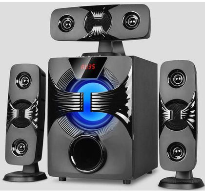 Sayona SHT1221BT- 3.1 Channel 9000W PMPO Subwoofer - Black