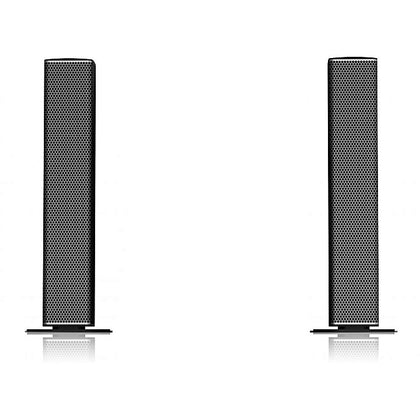SMARTplus PMPO 5000W Bluetooth Sound Bar X-Bass Speaker With USB/SD/Digital FM - Five Star - Grey,Black.