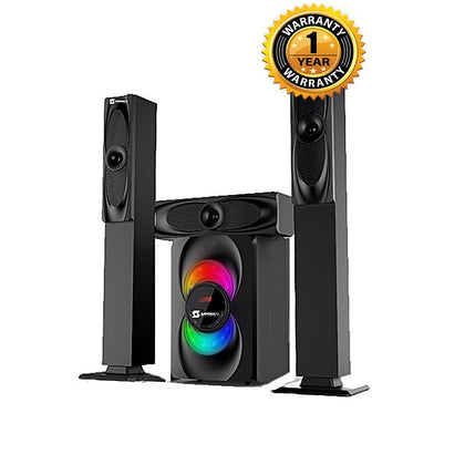 Sayona SHT1265BT-3.1CH LED Display Home Theatre System -Black