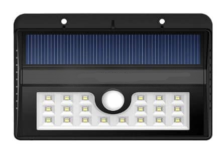 2PACK Solar Outdoor Weatherpro of Motion Sensor Lighting System - Black
