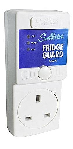 Sollatek High Quality Fridge Guard -5Amps - White