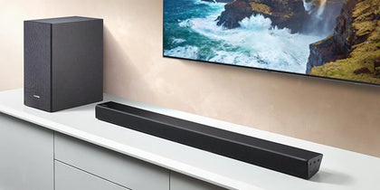 Samsung Series HW-N550 Soundbar - Black