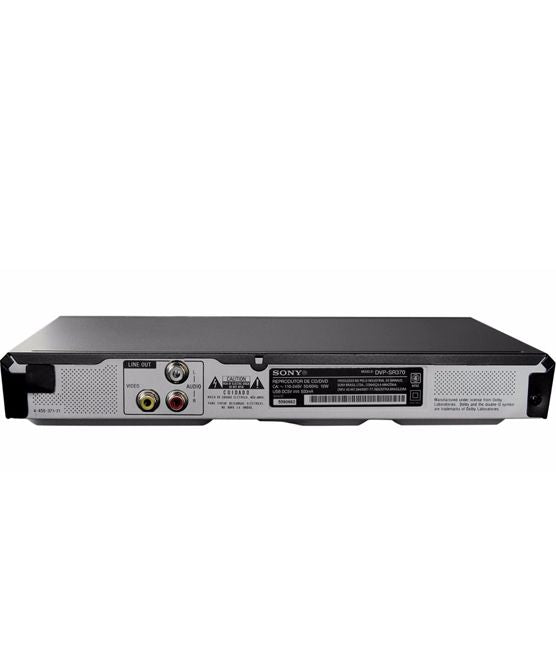 Sony DVP-SR370 Blu-ray Disk DVD Player With USB USB Port - Black