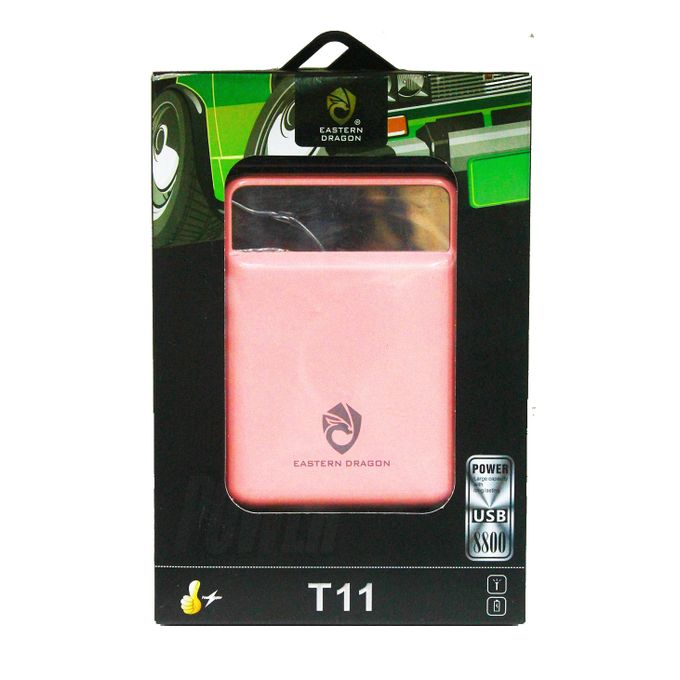 Eastern Dragon 8800mAh Power Bank - Pink
