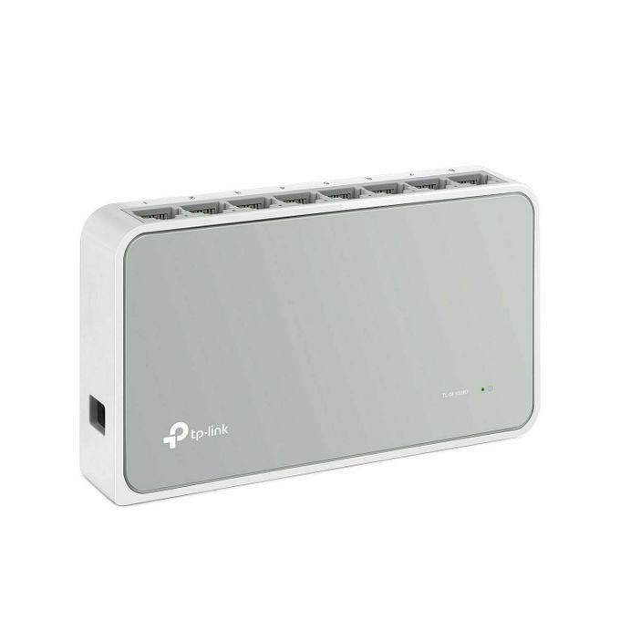 TP-Link Desktop Switch TL-SF1008D - 8-Port 10/100Mbps